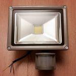 Разбираем светодиодный LED прожектор с датчиком движения