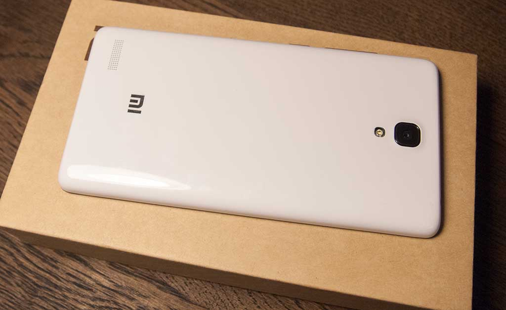 Xiaomi Redmi Note 4G вид снизу