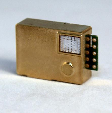 Один из вариантов миниатюрного датчика CO2 с инфракрасным методом измерения. Датчик MH-Z19.