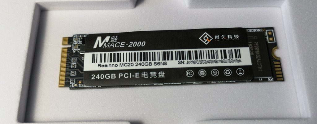 mace-2000, mc20, reeinno, pci-e, pcie,240gb, ssd-Диск
