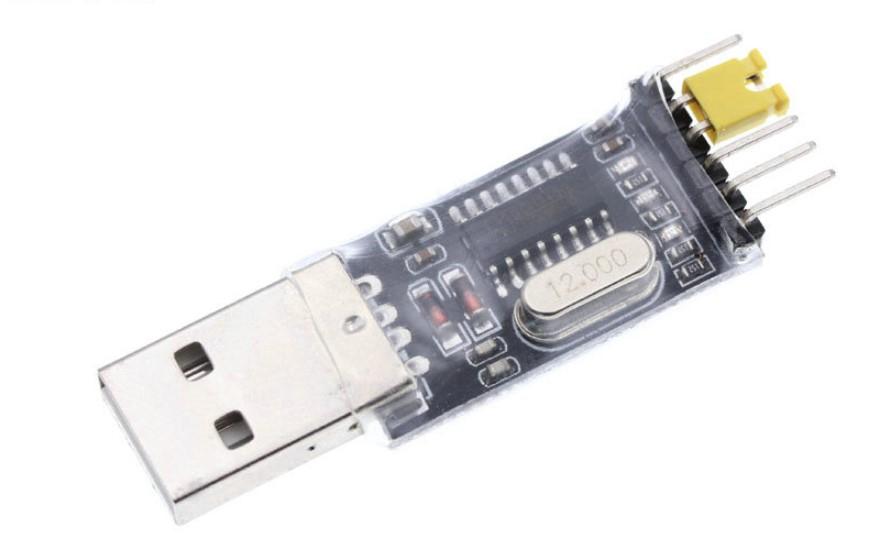 USB2TTL, USB to UART, ch430, 6 pins, перемычка, 6 выводов