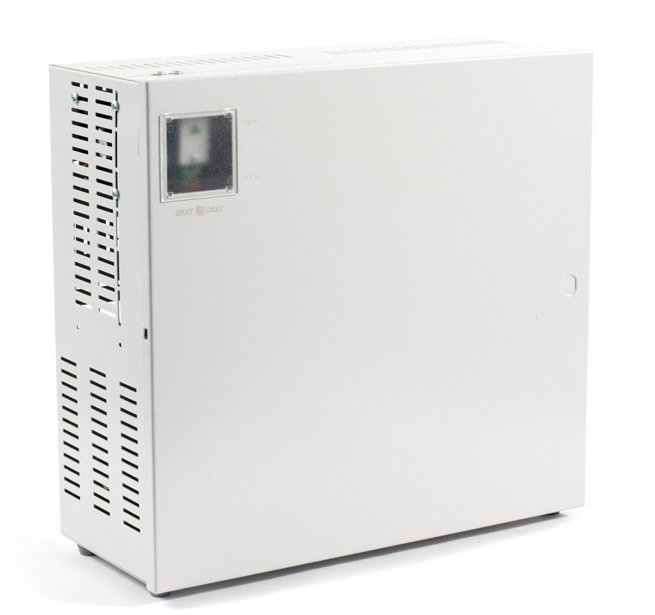 ИБП постоянного тока, 24А, 2 аккумулятора, металл