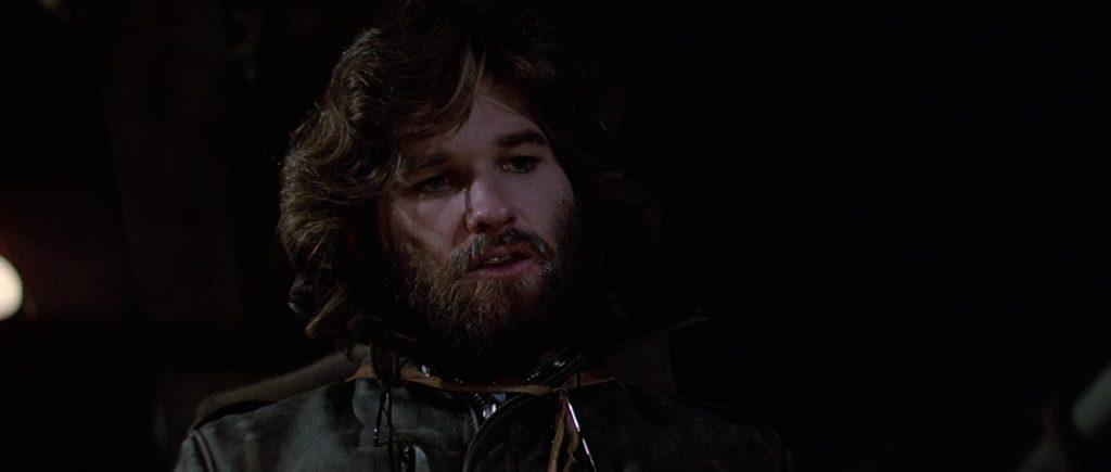 "Кадр из х/ф ""Нечто"" (1982), курт рассел, куртка, кожанка, борода"