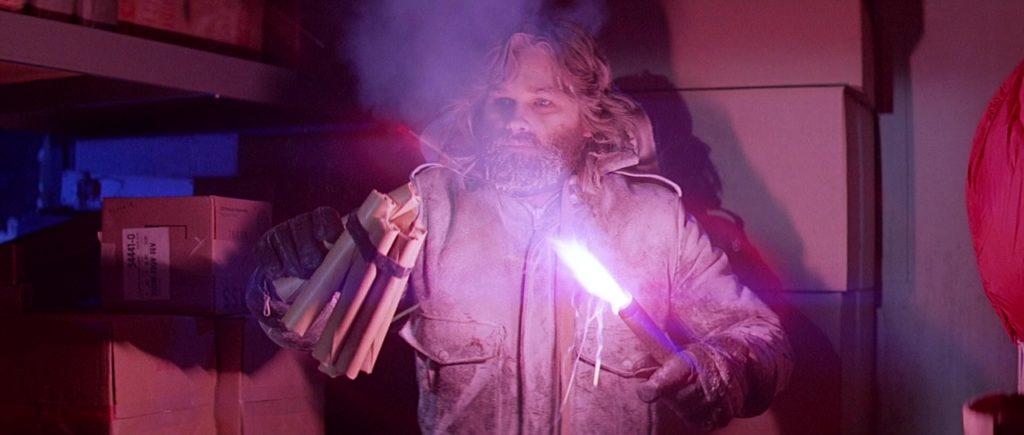 """Кадр из х/ф """"Нечто"""" (1982), курт рассел, замерзший, заиндивевший, динами, фальшфеер"""