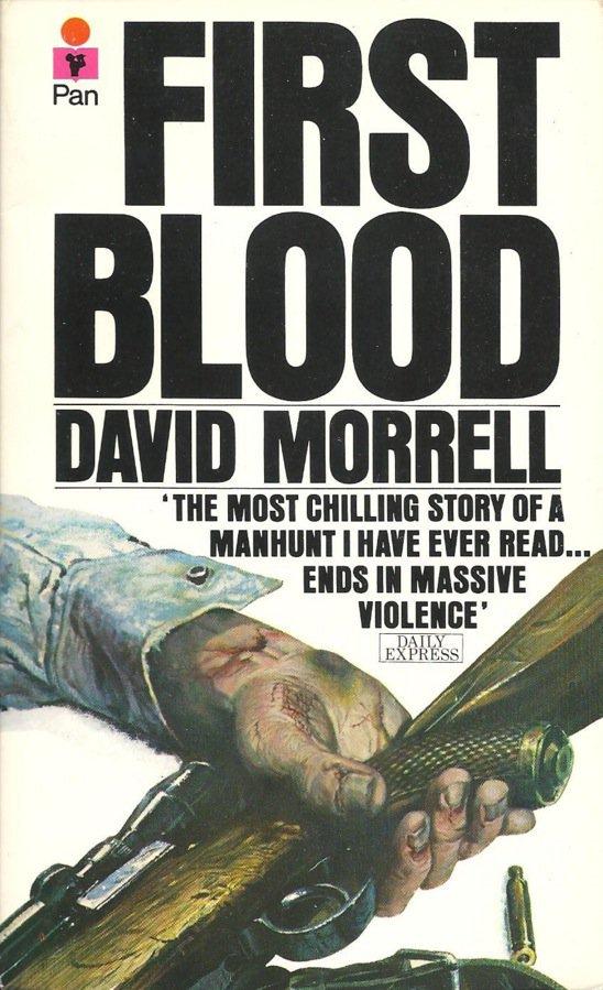 book cover, first blood, morrell, rambo, обложка книги, первая кровь, рэмбо, рембо, морел