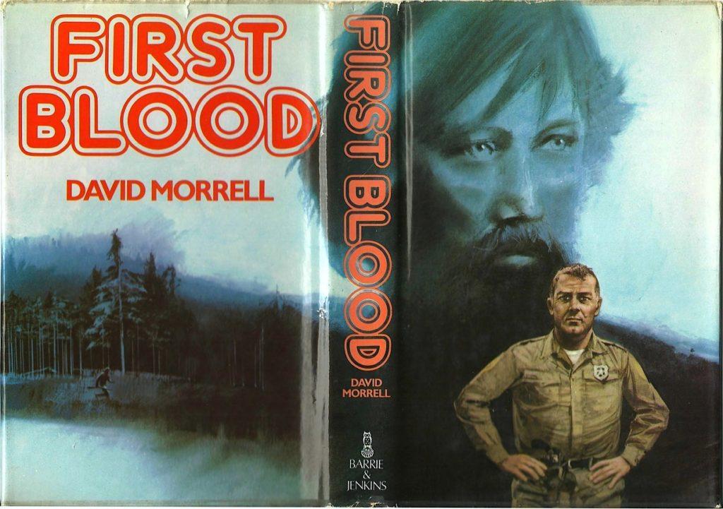 book cover, first blood, книга, обложка, первая кровь, рэмбо