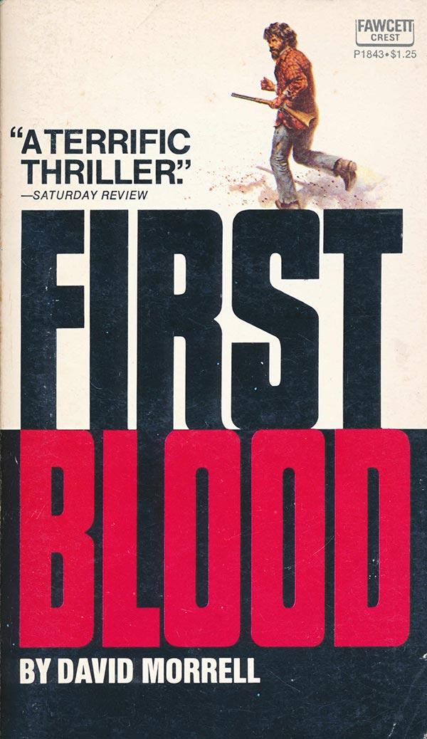book cover, first blood, обложка книги, моррел, первая кровь, рэмбо оригинальный