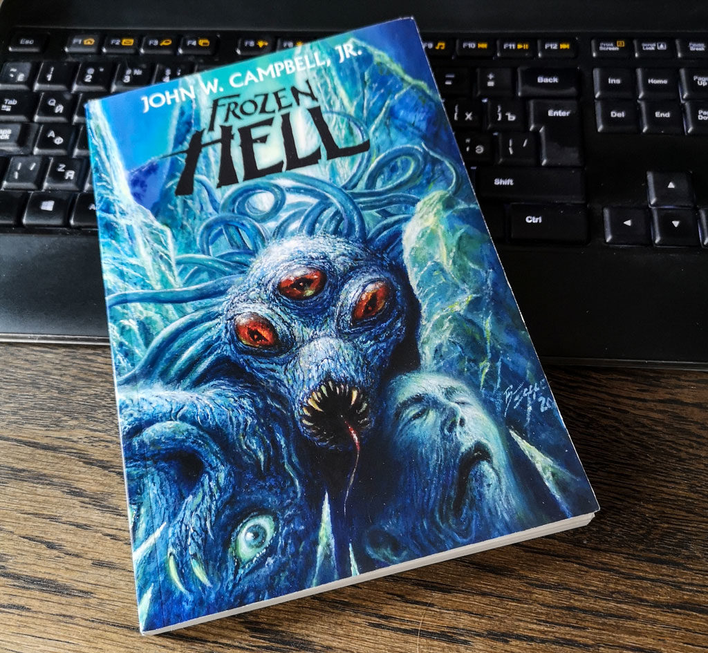 frozen hell, book, campbell, john, who goes there author