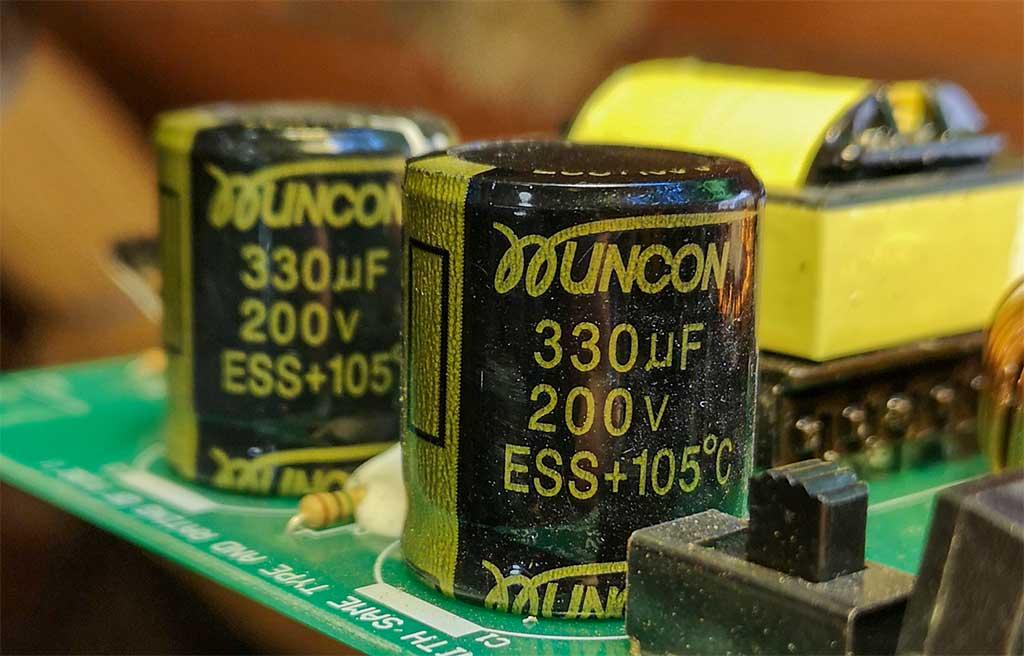 конденсатор, 330, 200, ESS, +105C