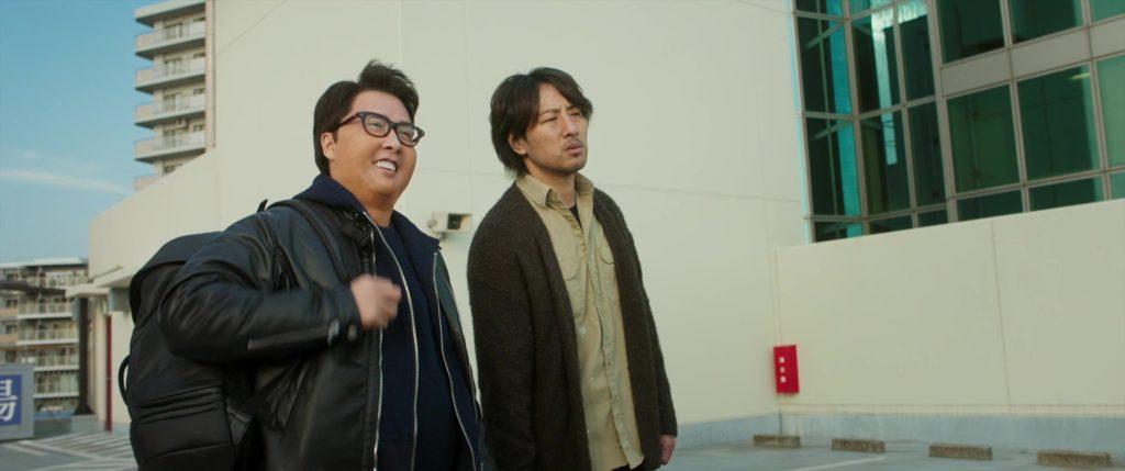 китаец, очки, японец