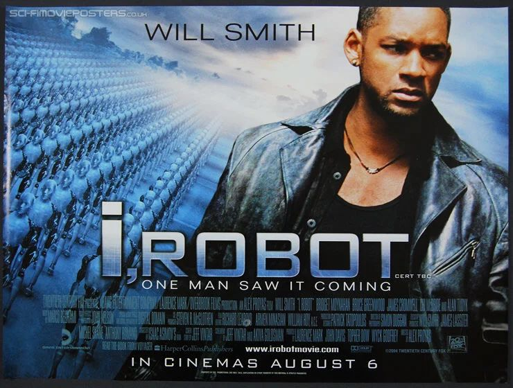 will smith, i, robot, one man saw it coming, in cinemas august 6