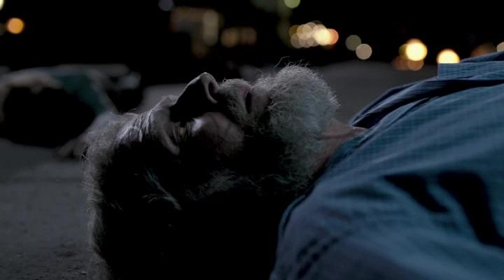 борода, труп, старик, дорога, огни