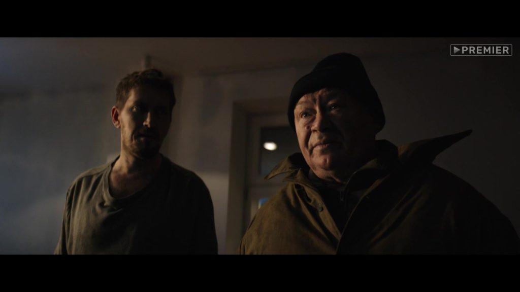 ночь, мужчины, окно, шапка, холодно