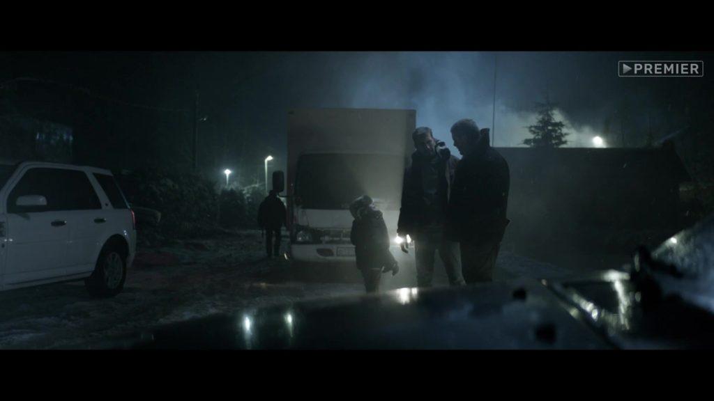 ночь, машина, эпидемия, свет