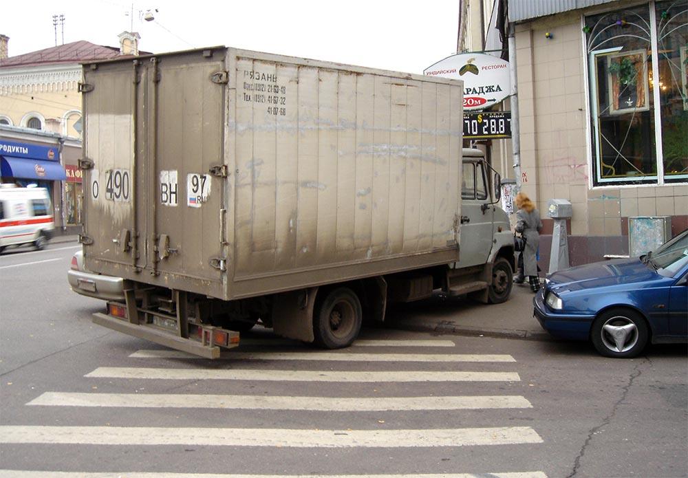"""A way of parking of Bull-calfs (Способ парковки """"бычков"""")"""