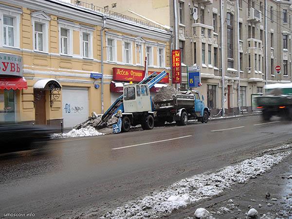 Snow clearance (Уборка снега)
