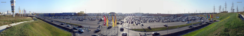 Ikea, Mega and Auchan (Икея, Мега и Ашан)