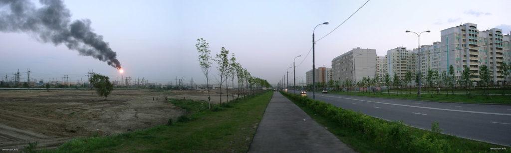 марьинский парк, авария, элеткричество, факел, нпз, 2005