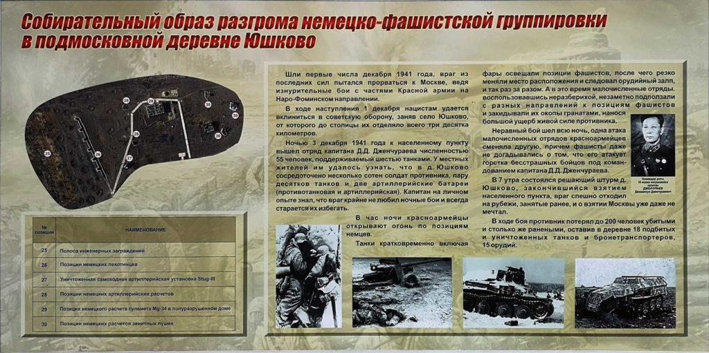описание схемы рахгорма фашистских войск в патриоте