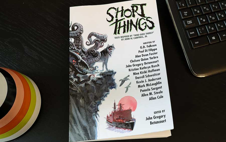 short things, edited by john Gregory Betancourt, book, fanfiction, ISBN 978-1-4794-4625-4