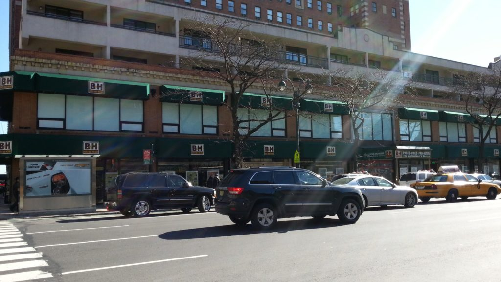 B&H, магазин, нью-йорк, машины
